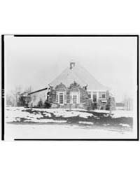 Stone House, with Snow on Ground, Colora... by Johnston, Frances Benjamin