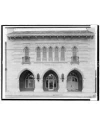 Facade of Town Hall, Colorado, Designed ... by Johnston, Frances Benjamin
