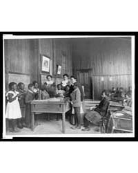 Thanksgiving Day Lesson at Whittier, Pho... by Johnston, Frances Benjamin