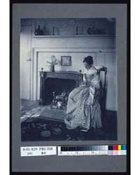 Miss Fidelia with Her Lover's Profile, P... by Johnston, Frances Benjamin