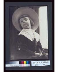 Portrait of a Boy in a Round Hat, A.P, P... by Pilsbury, Anne K.