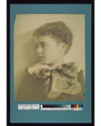 Head Shoulders Portrait of a Young Boy w... by Bundy, H.L.