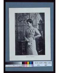 Lillian Thomas, Artist, Three-quarter Le... by Johnston, Frances Benjamin