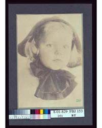 Young Girl with a Hat Tied with a Large ... by Schütze, Eva Watson