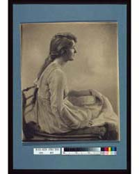 Young Woman Seated, Looking Right, Photo... by Johnston, Frances Benjamin