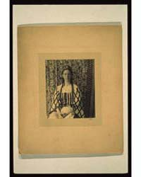 Portrait of a Woman with Braids in Front... by Allen, Frances S.