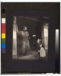A Crack with the Blacksmith, Photograph ... by Allen, Frances S.