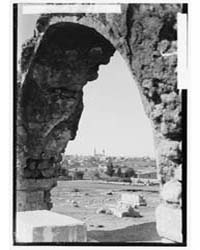 Jaffa to Jerusalem. Ramleh from the East... by American Colony Jerusalem
