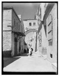 Newer Jerusalem. Via Delrosa I.E., Dolor... by Library of Congress