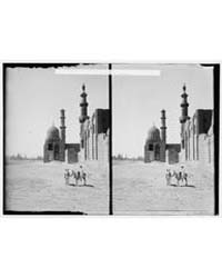 Egyptian Views; Cairo Masr. Tomb-mosque ... by American Colony Jerusalem