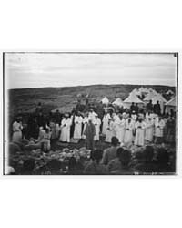 The Samaritan Passover on Mt. Gerizim. H... by American Colony Jerusalem
