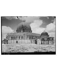 Dome of the Rock Close Showing Dome of t... by American Colony Jerusalem