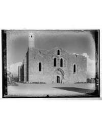 Tartous Cathedral from the N.W., Photogr... by American Colony Jerusalem