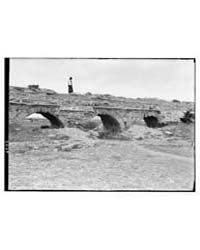 Caesarea. Kaisarieh. Roman Aqueduct Whic... by American Colony Jerusalem