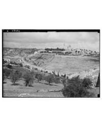 Mt. Zion & Olivet from the S., Photograp... by American Colony Jerusalem