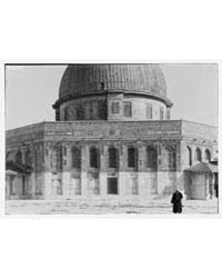 Dome of the Rock. Close-up, Photograph 0... by American Colony Jerusalem