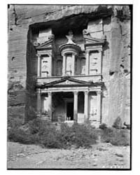 Petra. Khazne, Photograph 04477V by Matson Photo Service