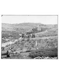 Jerusalem El-kouds. Mount of Olives from... by American Colony Jerusalem