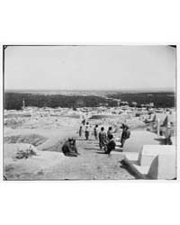 Damascus Esh-sham. Cemetery of the Meida... by American Colony Jerusalem