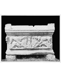 Sarcophagus, Serai, Syria. Side View., P... by Library of Congress