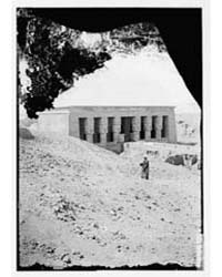 Egyptian Views. Temple of Hathor, Dender... by American Colony Jerusalem