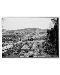 Mount of Olives Jebel Et-tur Etc. Mount ... by American Colony Jerusalem