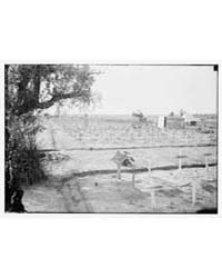 War Cemetery in Palestine Probably Gaza,... by Library of Congress