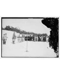 Ceremony at Cemetery in Palestine Probab... by Library of Congress