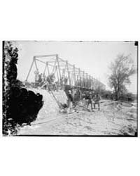 Jordan Bridge. Allenby Bridge Building, ... by Library of Congress