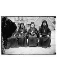 Greek Orthodox Priests from St. Catherin... by Library of Congress