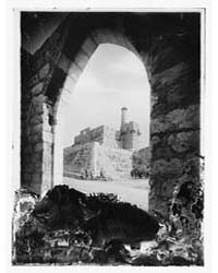 The Citadel, Jerusalem, Photograph 11345... by Library of Congress