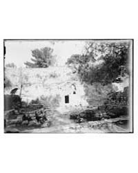 Exterior of the Garden Tomb, Jerusalem, ... by Library of Congress