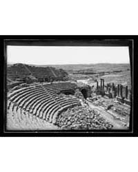 Jerash. Southern Theatre and Forum, Phot... by Library of Congress