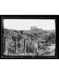 Ruins of Jerash Gerasa. the Cathedral Co... by Library of Congress