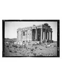 Palmyra Tadmor. Well-preserved Temple of... by American Colony Jerusalem