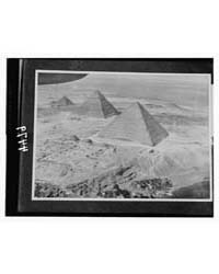 Cairo and the Pyramids. Pyramids of Gize... by American Colony Jerusalem