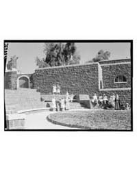 Tiberias, Scots Mission Hospital, Exteri... by Matson Photo Service