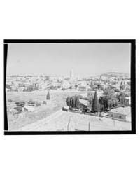 Jerusalem, New City, Photograph 13387V by Library of Congress