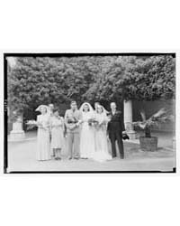 Miss Speed's Wedding, Major Prendergast,... by Matson Photo Service