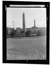 Constantinople. the Obelisk, Constantino... by American Colony Jerusalem