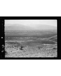 Down the Jordan Valley from the Sea of G... by American Colony Jerusalem