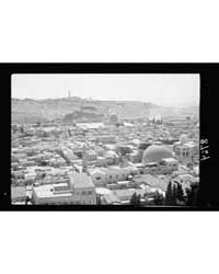 Jerusalem from St. Saveur. Cycloramic Vi... by American Colony Jerusalem