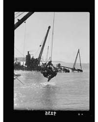Palestine Disturbances 1936. Dredging En... by American Colony Jerusalem