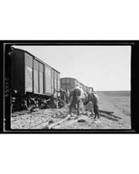 Repairs on Lydda-jerusalem Railroad, Sep... by American Colony Jerusalem