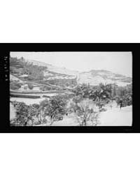Snow Scenes. Garden of Gethsemane Showin... by Matson Photo Service