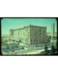 Buildings in Jerusalem. King David Hotel... by Matson Photo Service