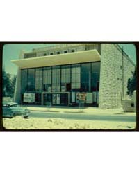 Buildings in Jerusalem. Movie House on H... by Larsson, Lewis