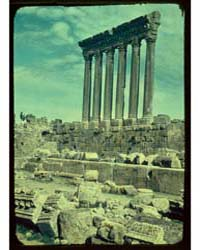 Damascus, Palmyra and Baalbek. Baalbek, ... by Matson Photo Service