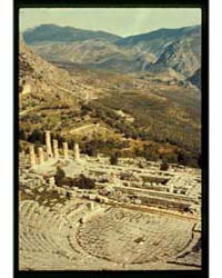 Greece. Delphi, the Theatre, Temple of A... by Visuri, Osmo