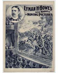Lyman H Howe's New Marvels in Moving Pic... by Courier Company